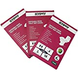 Gypsy Hygienic Disposable Toilet Seat Covers Travel Pack (10 Sheets Each Pack,Total 30 Sheets)…