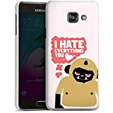 Samsung Galaxy A3 (2016) Housse Étui Protection Coque Monstre Phrases Amour