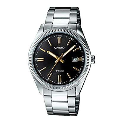 Casio Enticer Analog Black Dial Men's Watch – MTP-1302D-1A2VDF (A487)