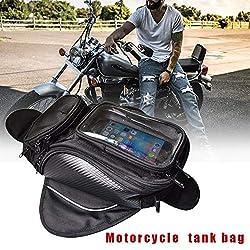 mooderff Tanktasche Motorrad Oxford wasserdichte Tasche Motorrad Kleine Tanktasche Fahrzeug Riding Bag Messenger Bag Motorrad Tanktasche Wasserdicht, Oxford