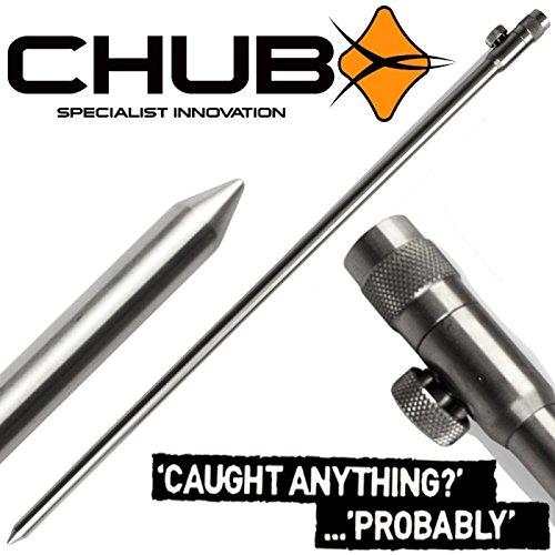 Chub Precision Lite banco de memoria 6.1 M de soporte para cañas de pescar del banco Palo para el soporte