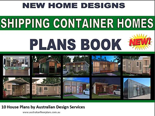 Shipping Container Homes - 10 House Plans Book: buy house plans online here (English Edition)