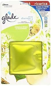 Glade - Discreet, Ricarica Elimina gli Odori e Rinfresca, 8 g, Fragranze assortite