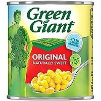 Green Giant original maíz dulce 340 g (peso escurrido 285 g) (paquete de 12 x 340 g)
