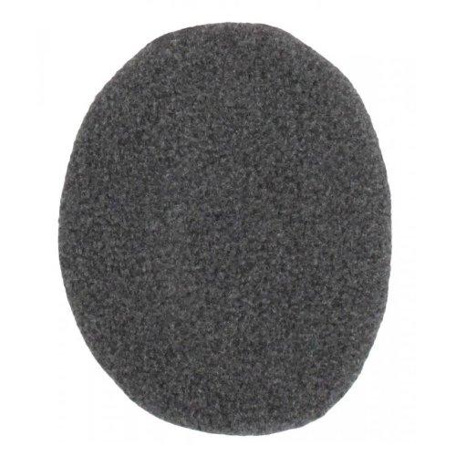 Earbag - Copriorecchie singoli in pile, taglie disponibili S, M e L, colori assortiti, Grigio (grigio scuro), m