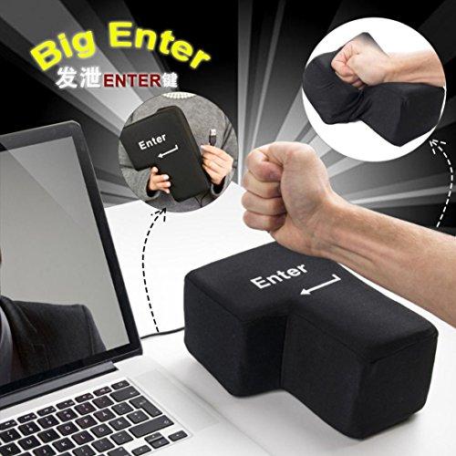 Bescita - Almohada de Mesa para Llaves, con botón USB, para Oficina,...