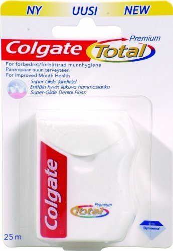Zahnseide Colgate Total Pro Zahnfleisch, 10er Pack (1x 10 Stück)