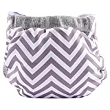 #4: Bumchum Hybrid Diaper Cover with Reusable and Disposable Non Toxic Bio Soaker, Jumbo
