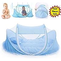 Cuna de viaje, de la marca Smelov, con mosquitera, para bebés de 0 – 3 años
