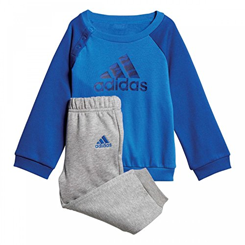 ADIDAS Baby Logo Jogger Fleece Trainingsanzug, Collegiate Royal/Dark Blue, 92