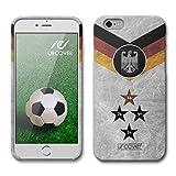 Urcover Apple iPhone 6 / 6s WM 18 Hülle [ Team Deutschland ] Fußball Case