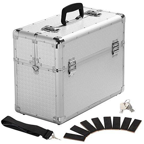 Yahee Werkzeugkoffer Multikoffer Werkzeugkiste Koffer+ Schlüssel Tragegurt