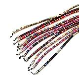 Sin marcar 3 pcs cordón de Gafas,Estampado Etnico,Talla G