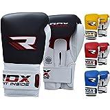 RDX BGL-T1 - Guantes de boxeo para hombre, color negro / blanco, talla 16 oz