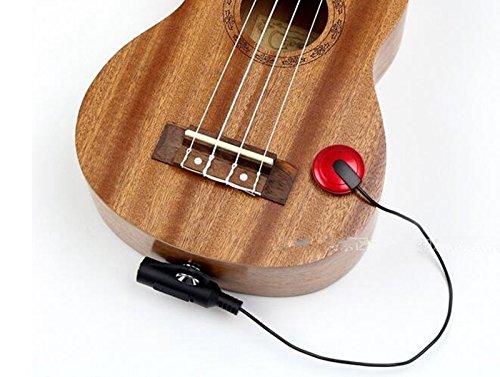Preisvergleich Produktbild EFORCAR Piezo Pickup Kontaktmikrofon Pickup für Gitarre Ukulele Violine (Die meisten Musikinstrument)