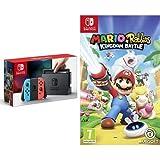 Nintendo Switch, Joy con Rossi e Super Mario Odyssey (Digital Download) - Limited Edition