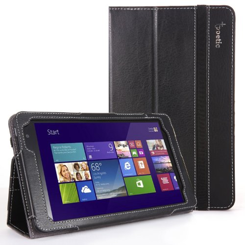Poetic SlimBook Case for Dell Venue 8 Pro 32 GB 64 GB Tablet (Windows 8.1) Black (3 Year Manufacturer Warranty From Poetic)  available at amazon for Rs.1649