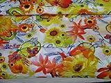 Blumen Drucke - Floral- Meterware - Stoffe