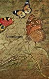 Notebook: greeting card letters cards paper stationery butterflies ream butterfly letter dress man