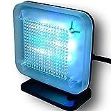 TV Simulator mit Zeitschaltuhr | Ideal zur Abschreckung von Einbrechern | Fernseh Simlator Licht by RIVENBERT