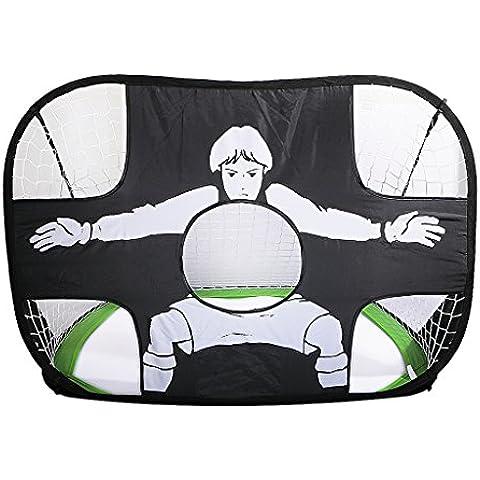 Accesorios de Fútbol Actividad Simple Fútbol Meta Portátil Plegable - Verde + Negro