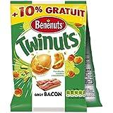 bénénuts Benenuts twinuts bacon 150gx2 - ( Prix Unitaire ) - Envoi Rapide Et Soignée