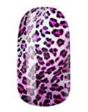 NAGELFOLIEN by GLAMSTRIPES - LEO WHITE PINK