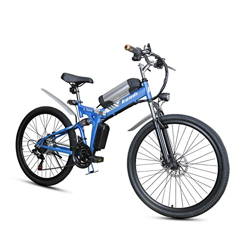 51XUWTV JlL. SS500  - GTYW, Electric, Folding, Bicycle, Mountain, Adult Moped, Mountain Electric Car, 26-inch Smart Electric Car, 36V 250W, Rear Engine, 110km Long Battery Life, Lithium-ion Battery