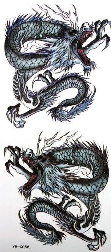 Autocollant de dragon totem sexy étanche peint de tatouage