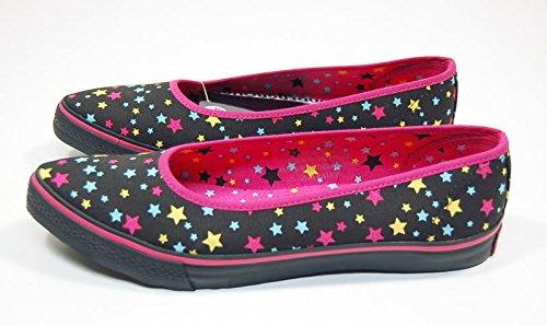 Underground Damen Schuhe Multi Sterne Ballerinas