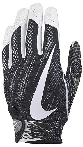 Nike Vapor Knit Skill Position Handschuhe 2017–Schwarz/Weiß, Mittel