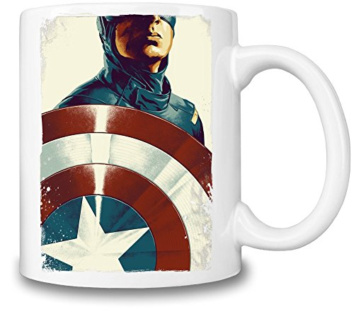 Captain America With Shield Becher-Schale - Shield Drip