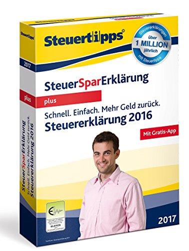 Preisvergleich Produktbild SteuerSparErklärung 2017 plus (für Steuerjahr 2016)