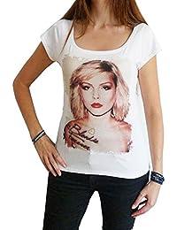 Blondie 2 : T-shirt Femme imprimé photo de sta, Blanc, t shirt femme,cadeau