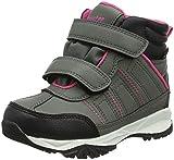 Latupo GmbH - Shoes Jade, Zapatos de High Rise Senderismo Unisex Niños, Gris (Grau/Pink), 26 EU