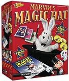 Marvin's Magic 54064 - Zauberkasten Marvin`s magischer Zauberhut, Komplettset mit Popup Zylinder und Handpuppe Hase, Zauber Set für Magier ab 6 Jahre, Set mit deutscher Anleitung zum Zaubern lernen