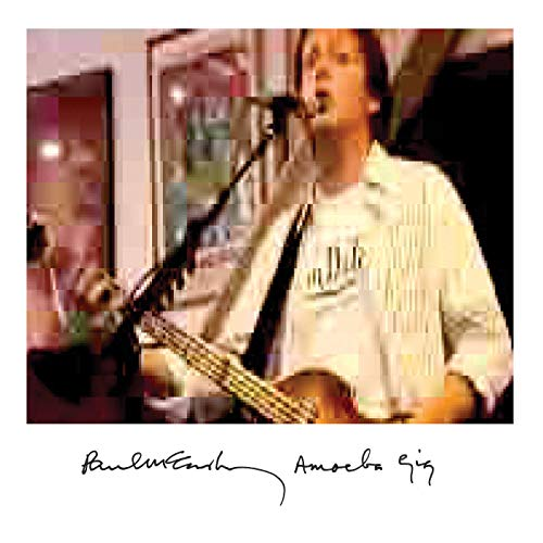 Paul McCartney reissues a series of live albums on CD and