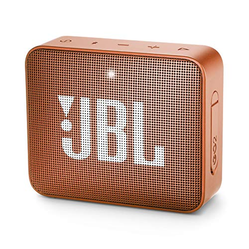 JBL GO 2 - Altavoz inalámbrico portátil con Bluetooth, parlante resistente al agua (IPX7), hasta 5h de reproducción con sonido de alta fidelidad, amarillo