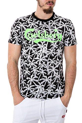 carlsberg-homme-t-shirt-regular-fit-printed-cbu2601-m-noir