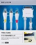 Belkin - F8Z361EA06 - Câble Audio/Vidéo avec Connecteur