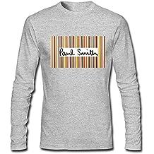 Paul Smith PS Chest logo long sleeve Tops T shirts -  Maglia a manica lunga  - ragazzo Grigio Grigio Medium/7Y-8Y