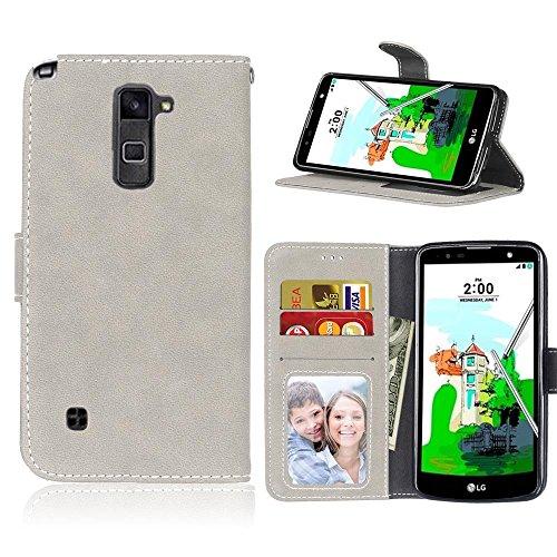 Wkae Case Cover Housse de protection en cuir pour iPhone 3G / 3GS / 3G / 3GS / 3GS ( Color : 5 , Size : LG G Stylo 2 Plus Stylus 2 Plus K550 ) 6