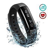 ♛ Può fare con questo Smartwatch IP68 Fitness Tracker: Monitorare la frequenza cardiaca giornaliera Si può facilmente misurare la frequenza cardiaca al polso. Fare ogni battito contare e lasciare che la frequenza cardiaca essere la vostra gui...