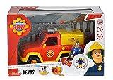 Simba 109257656 - Feuerwehrmann Sam Feuerwehrauto Venus mit Figur und Originalsound Test