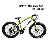 Dexter Front Suspension 21-Speed Adventure Sports Mountain Bike for Men's and Women's Bike