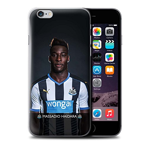 Offiziell Newcastle United FC Hülle / Case für Apple iPhone 6S+/Plus / Pack 25pcs Muster / NUFC Fussballspieler 15/16 Kollektion Haïdara