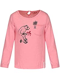 Life by Shoppers Stop Girls Round Neck Printed Top