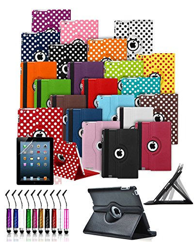 For Amazon Fire 7 with Alexa (7th Generation, 2017 Release, 7 inch) - MobiBax Prime Custom Made Tablet Case Cover with 360° Rotating and Stand Feature with Mini Stylus