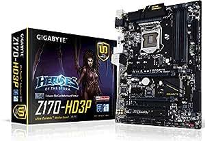 Gigabyte Z170-HD3P Skylake ATX Motherboard - Black