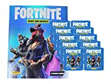 Fortnite Sticker - Serie 1 (2019) - 1 Album + 10 Booster (50 Sammel Sticker) -